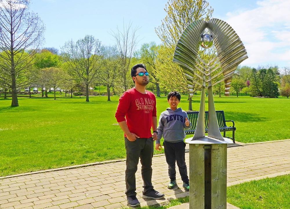 'Winged Figure' Mount Saint Mary Park, St. Charles, Illinois.JPG