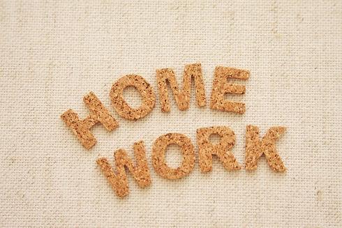 HOMEWORKS 宿題ロゴ