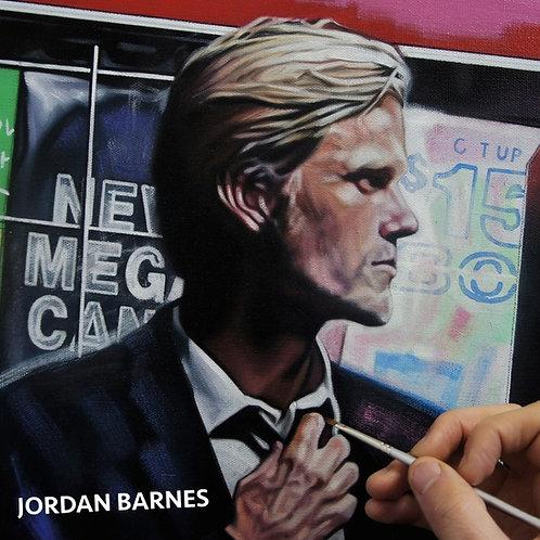 JORDAN BARNES CD (DEBUT SELF TITLED ALBUM 2015)
