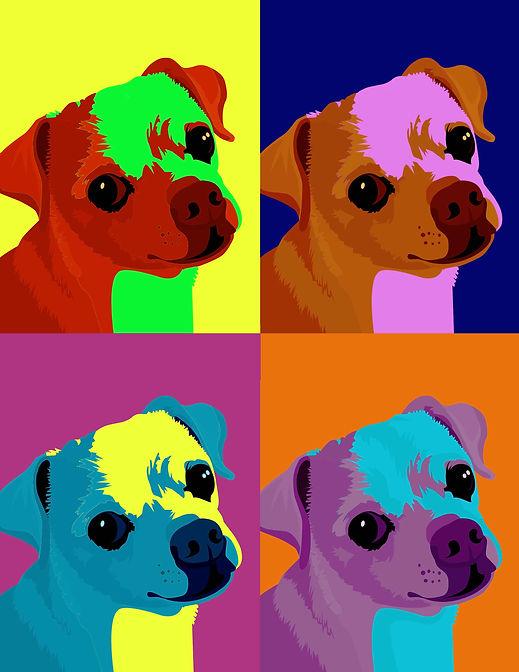 Andy Warhol Chihuahua