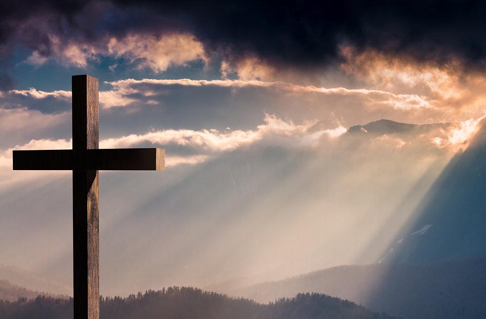 Jesus%20Christ%20cross.%20Easter%2C%20resurrection%20concept.%20Christian%20wooden%20cross%20on%20a%