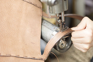 leather repair bag repair stitching