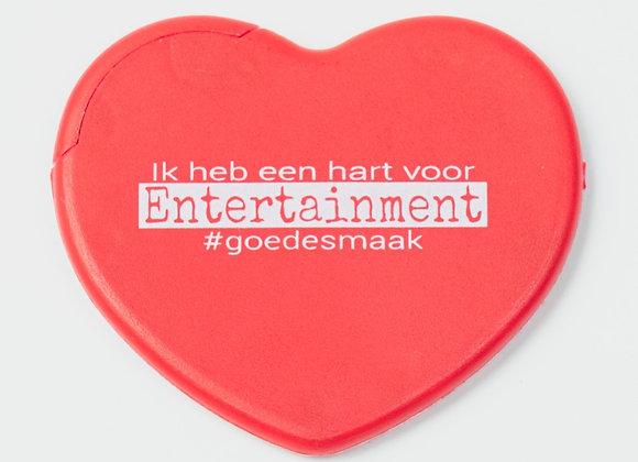 Mintdoosje - Hart voor Entertainment