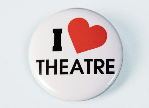 Button - I Love Theatre