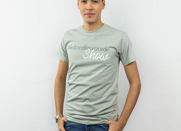 T-Shirt - Ik doe alles voor de show