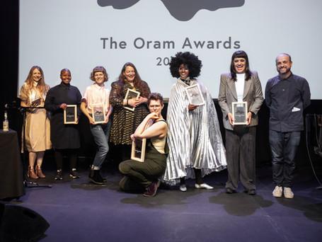 2019 Oram Awards