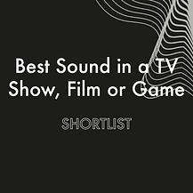 Insta Best Sound in TV Show shortlist @4