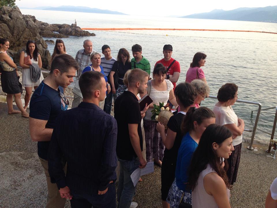 Na krštenju