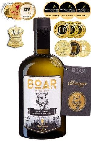 BOAR Gin® -  0,5l 43% Vol