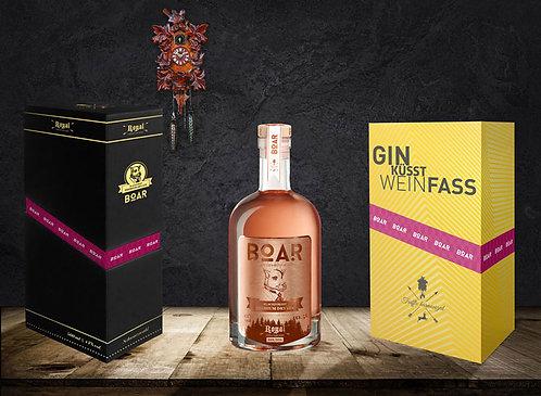 BOAR Royal Rubin Gin 0,5l 43% Vol – Im Barrique gereift