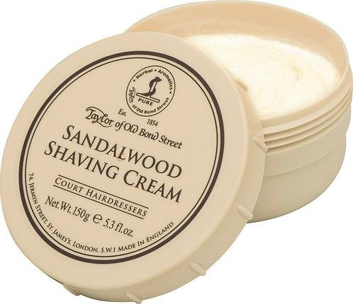 Taylor of Old Bond Street Rasierseife / Shaving Cream - Sandelholz 150g