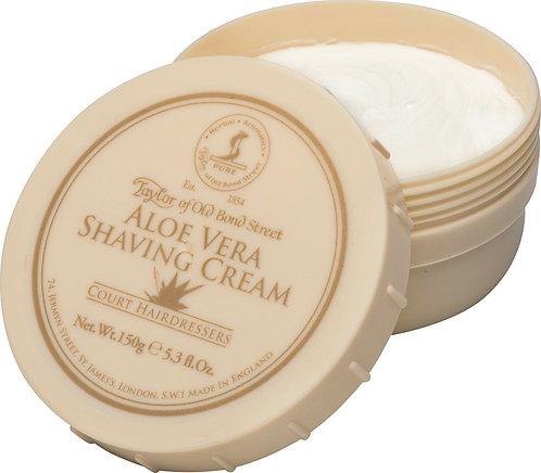Taylor of Old Bond Street Rasierseife / Sensitive Shaving Cream - Aloe Vera 150g