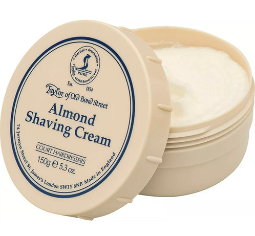 Taylor of Old Bond Street Rasierseife / Shaving Cream - Almond/Mandel 150g