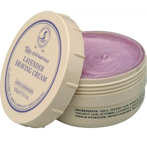 Taylor of Old Bond Street Rasierseife / Shaving Cream - Lavendel 150g