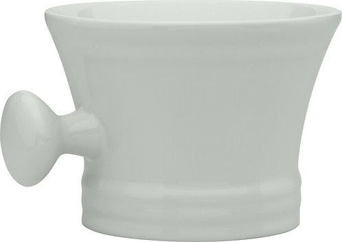 ERBE Rasierschale / Seifenschale, Keramik, weiß