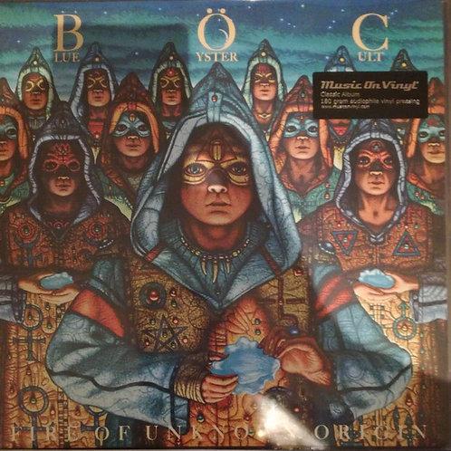 Blue Öyster Cult – Fire Of Unknown Origin (2020 MoV Black Vinyl Reissue)