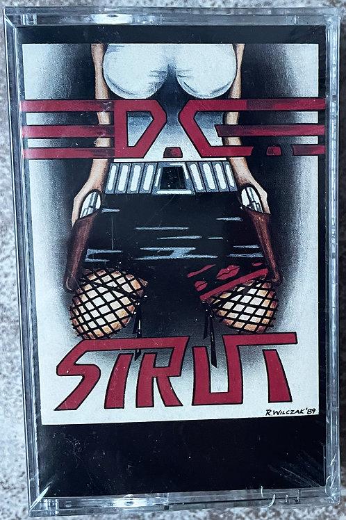 DC Strut - DC Strut  (Out of print Cassette tape!! Last sealed copies!)
