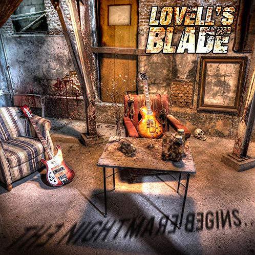 Lovell's Blade - The Nightmare Begins (Orange Marbled Vinyl)