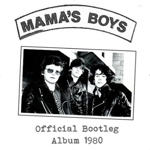 Mama's Boys - Official Bootleg Album 1980 (CD in jewel case)