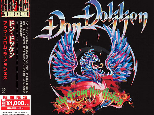 Don Dokken - Up From The Ashes (2018 Japan SHM-CD)