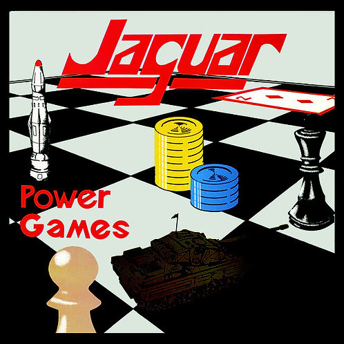 Jaguar - Power Games (Brown Camo Vinyl Reissue)