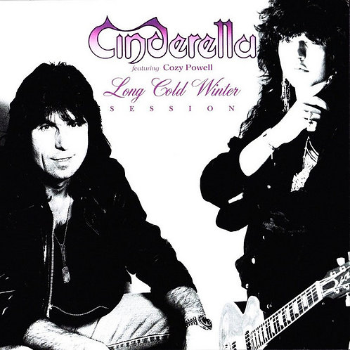 Cinderella Feat. Cozy Powell – Long Cold Winter Sessions (CD) (Euro Import!)