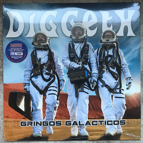 Diggeth - Gringos Galacticos (Metallic Blue Vinyl)