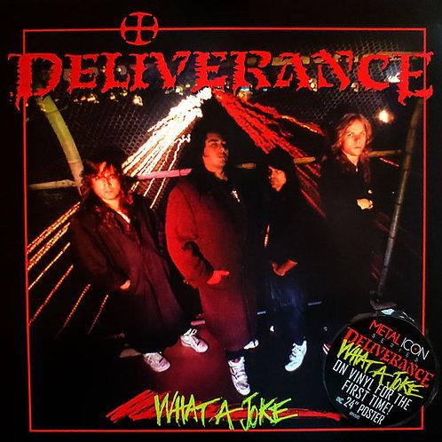 Deliverance - What A Joke (2021 Reissue) (Lime Green Vinyl)