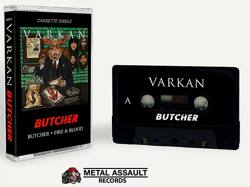 Varkan - Butcher (Limited Edition Cassette Single!)