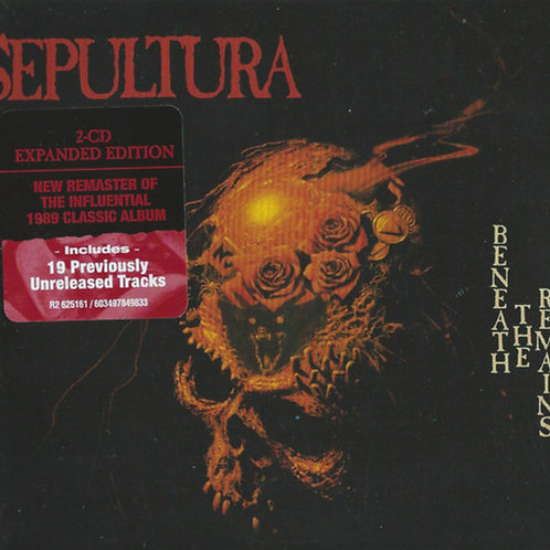 Sepultura – Beneath The Remains  (2020 Reissue) (CD)
