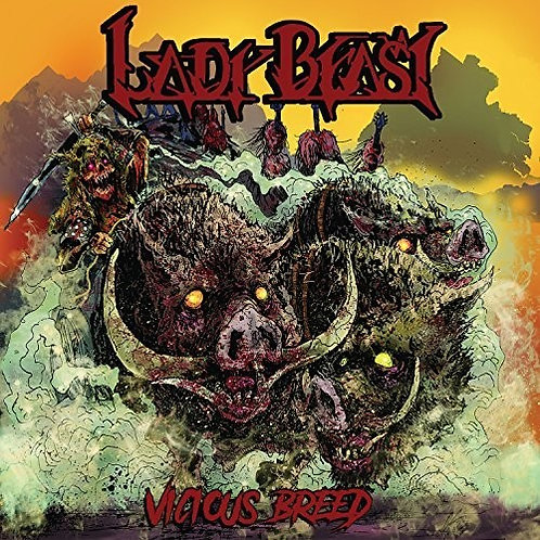 Lady Beast ‎– Vicious Breed (vinyl)