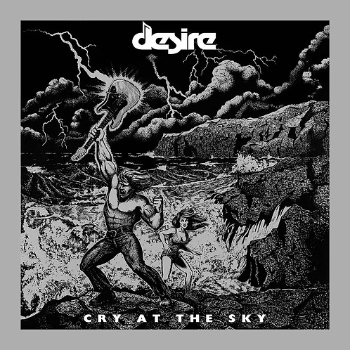 Desire - Cry At The Sky (CD)