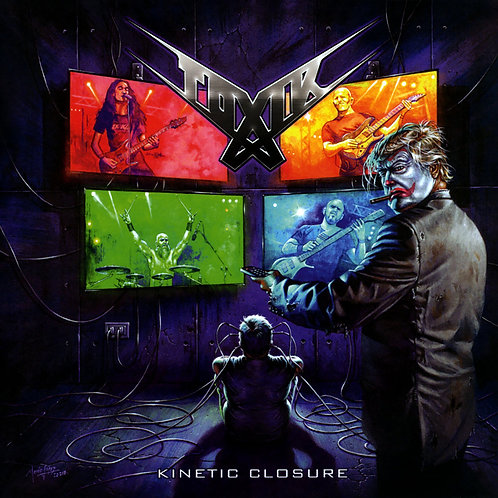 "Toxik - Kinetic Closure (7"" - Silver Vinyl)"