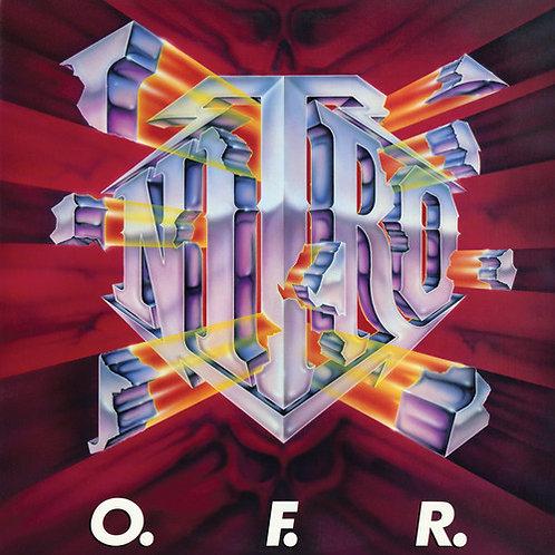 "Nitro - O.F.R. (2019 Vinyl Reissue - Red/Yellow ""Explosion"" Vinyl)"