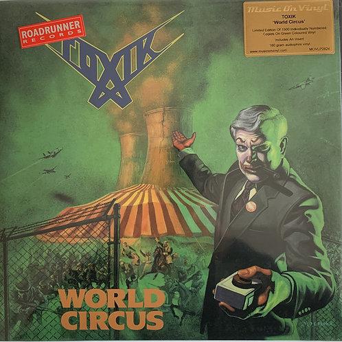 Toxik - World Circus (Vinyl Edition) (2021 Reissue) (Green Vinyl LP)