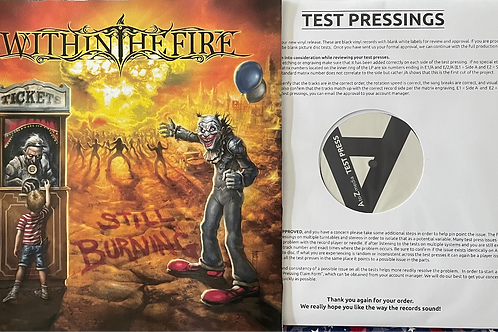 Within The Fire - Still Burning (Test Pressing w/ Leather Cover)