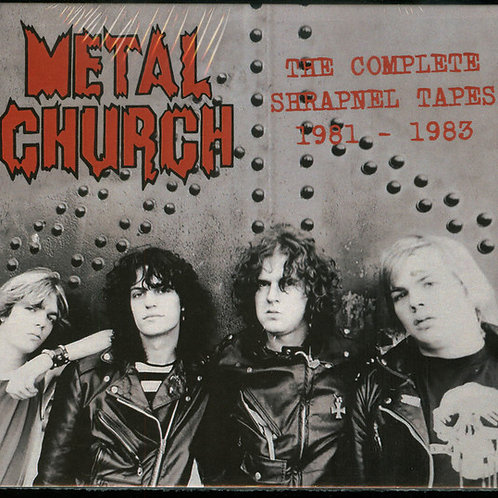 Metal Church - The Complete Shrapnel Tapes 1981-1983 (CD) (Japan Import)