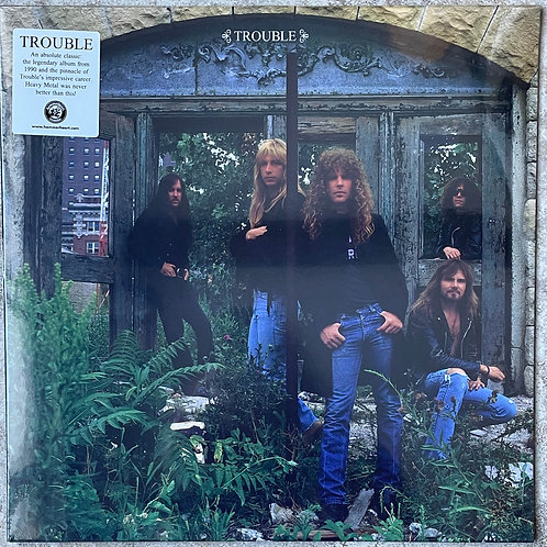 Trouble - Trouble (2020 Hammerheart Records Reissue - Black Vinyl)