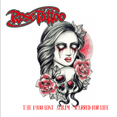 Rose Tattoo – The 1980 Lost Album - Scarred For Life  (CD) (Euro Import)