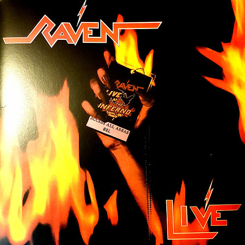 Raven - Live At The Inferno (2 LP) (Reissue) (Vinyl)