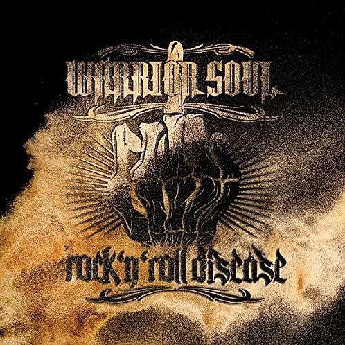 Warrior Soul – Rock 'N Roll Desease (Black/Yellow Splatter Vinyl)
