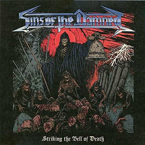 Sins Of The Damned – Striking the Bell of Death (Vinyl)