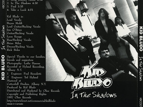 Kid Bludo - In The Shadows (EP) (CD)