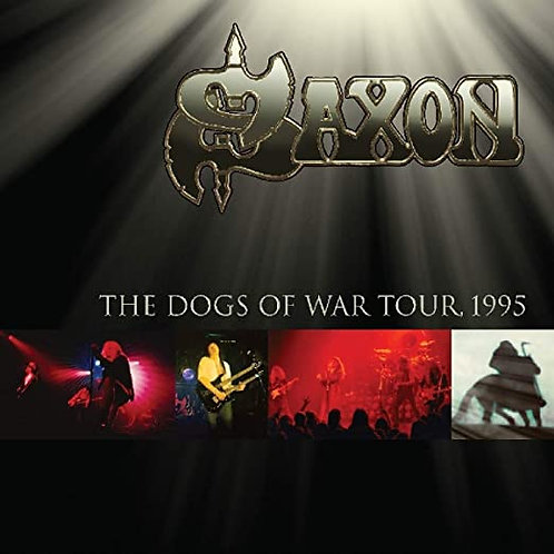 Saxon ‎– Dogs Of War Tour 1995 (2 LP) (Vinyl)