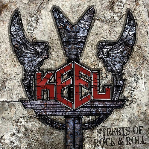 Keel - Streets Of Rock & Roll (Grey Marbled Vinyl) (ONLY 1  LEFT IN STOCK!!)