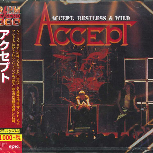 Accept  - Restless And WIld (2019 Japan SHM-CD)