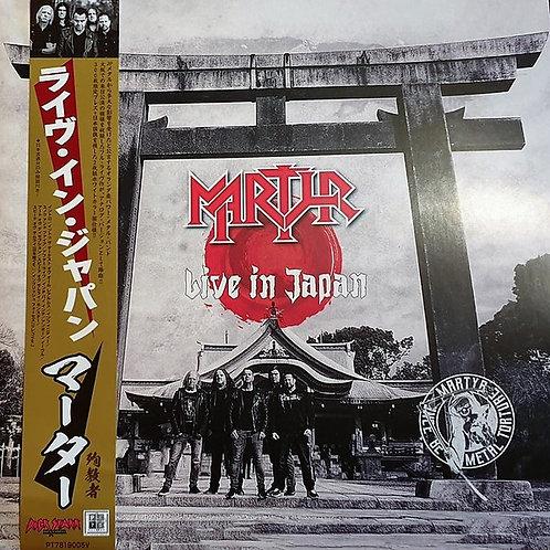 Martyr - Live In Japan  (White Vinyl Edition) (2 LP)
