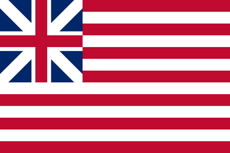 10 flag bunting Cambridgeshire Blue British County 3 metre long