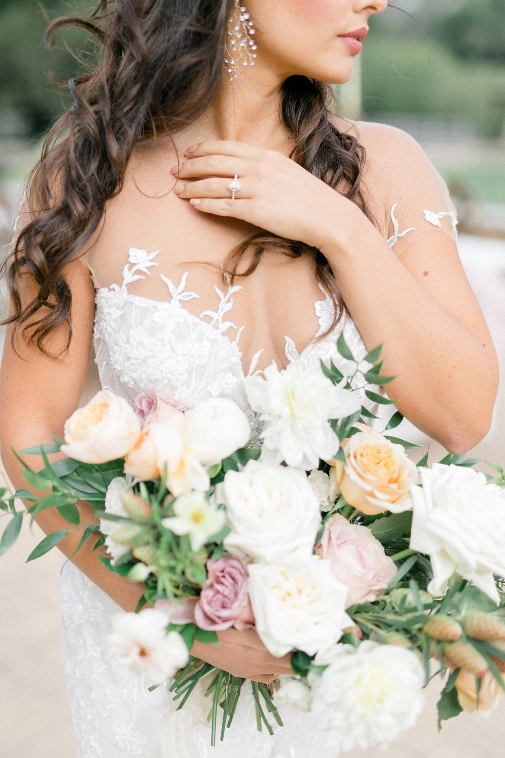 Garden Style Luxury Bridal Bouquet