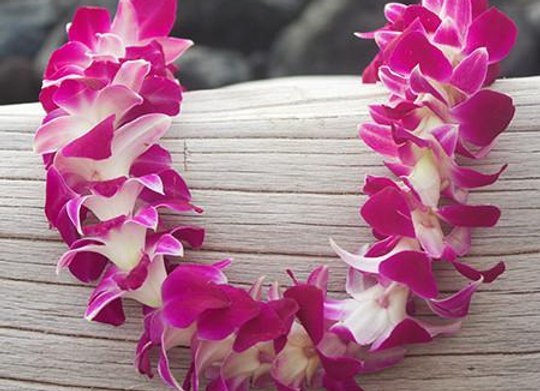 Qty 1 - Orchid Lei